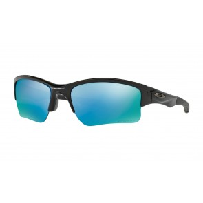 Oakley Quarter Jacket (Youth Fit) - Polished Black / Prizm Deep Water Polarized - OO9200-16 Zonnebril