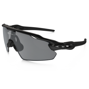 Oakley Radar EV Pitch Zonnebril - Polished Black / Black Iridium Polarized