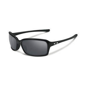Oakley Dispute - Polished Black / Black Iridium - OO9233-02 Zonnebril