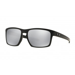 Oakley Sliver Machinist Collection - Matte Black / Chrome Iridium - OO9262-26 Zonnebril