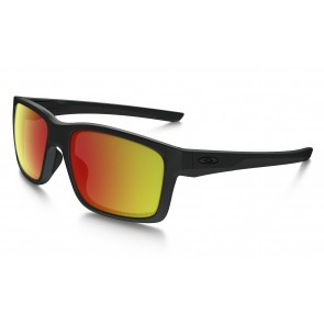 Oakley Mainlink - Matte Black / Ruby Iridium Polarized - OO9264-07 Zonnebril