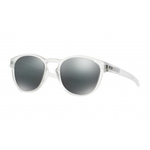 Oakley Latch - Matte Clear / Black Iridium - OO9265-04 Zonnebril