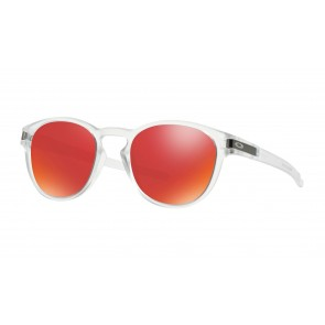 Oakley Latch - Matte Clear / Torch Iridium - OO9265-09 Zonnebril