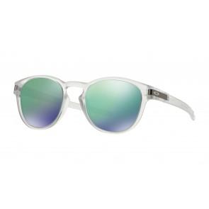 Oakley Latch - Matte Clear / Jade Iridium - OO9265-13 Zonnebril