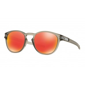 Oakley Latch - Matte Grey Ink / Ruby Iridium - OO9265-15 Zonnebril