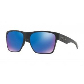Oakley TwoFace XL - Matte Black / Sapphire Iridium Polarized - OO9350-05 Zonnebril