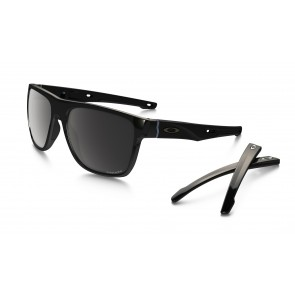 Oakley Crossrange XL - Polished Black / Prizm Black Polarized - OO9360-0758 Zonnebril