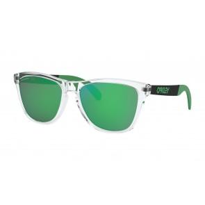 Oakley Frogskins Mix Polished Clear + Prizm Jade Iridium OO9428-0455
