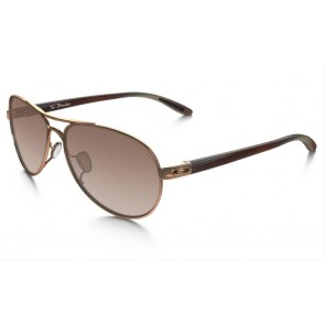 Oakley Tie Breaker - Polished Rose Gold / VR50 Brown Gradient - OO4108-08 Zonnebril