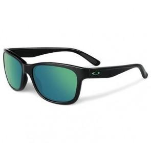 Oakley Forehand - Polished Black / Emerald Iridium - OO9179-28 Zonnebril