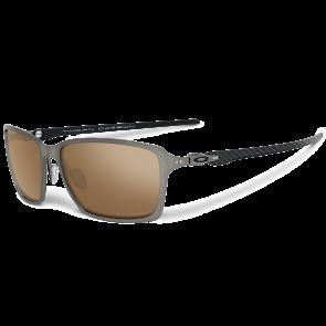 Oakley Tincan Carbon - Titanium / Titanium Iridium Polarized - OO6017-05 Zonnebril