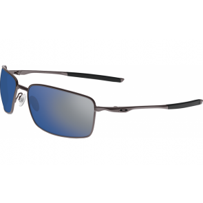 Oakley Square Wire - Cement / Ice Iridium - OO4075-02 Zonnebril
