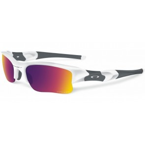 Oakley Flak Jacket XLJ - Polished White / Prizm Road - OO9009-07 Zonnebril