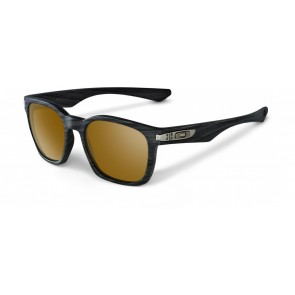 Oakley Garage Rock - Woodgrain Collection / Tungsten Irdium Polarized - OO9175-09 Zonnebril
