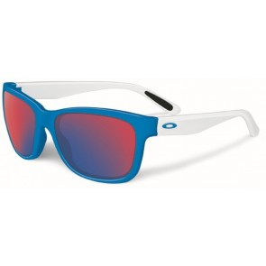 Oakley Forehand - Brilliant Blue / +Red Iridium - OO9179-17 Zonnebril