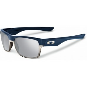 Oakley TwoFace - Matte Navy / Chrome Iridium Polarized - OO9189-15 Zonnebril