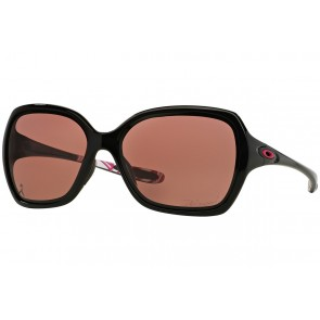 Oakley Overtime - Breast Cancer Awareness - Polished Black / OO Grey Polarized - OO9167-09 Zonnebril