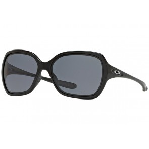 Oakley Overtime - Polished Black / Grey Polarized - OO9167-07 Zonnebril