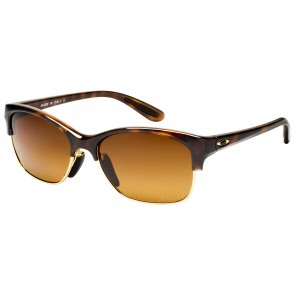 Oakley RSVP - Tortoise / Brown Gradient Polarized - OO9204-03 Zonnebril