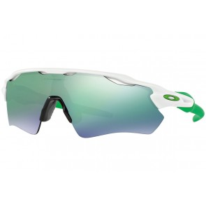 Oakley Radar EV Path - Polished White / Jade Iridium - OO9208-48 Zonnebril