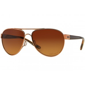 Oakley Disclosure - Rose Gold / Brown Gradient Polarized - OO4110-05 Zonnebril