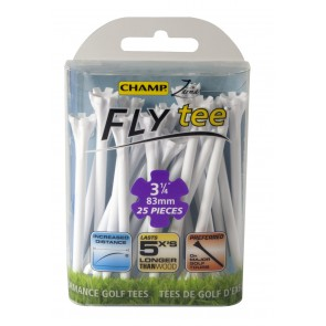 Champ Fly Tees-Wit-83mm