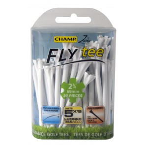 Champ Fly Tees-Wit-69mm