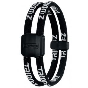Trion:Z Magneet Armband, Kleur : Zwart/Zwart, Maat : Small
