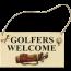"""Golfers Welcome"" Bordje"