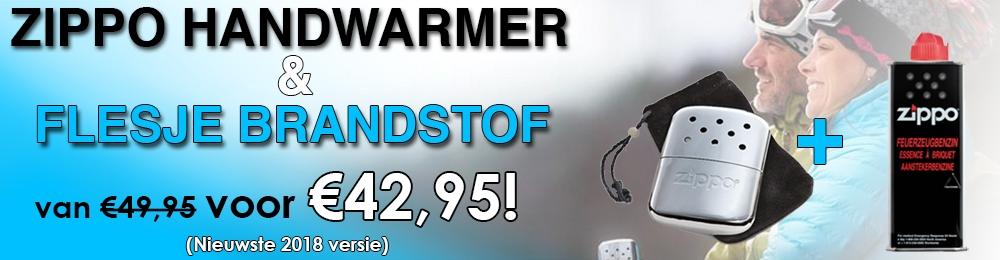 Zippo Handwarmer Actie